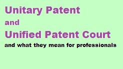Kluwer Patent Blog UPC-serie