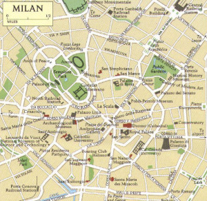 Milan seat of a UPC Central Division?